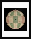 Astrolabe: plate with rojas projection by Nicolas Bion