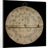 Astrolabe: mounted reverse by Nicolas Bion