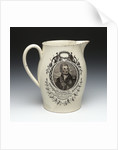 Jug with a portrait of Vice-Admiral Horatio Nelson (1758-1805) by Thomas Baddeley