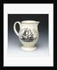 Jug with a portrait of Admiral Sir George Brydges Rodney (1719-1792) by John Aynsley & Sons Ltd.