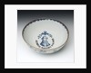 Bowl with a portrait of Admiral Sir George Brydges Rodney (1719-1792) by unknown