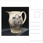 Creamware jug by Thomas Baddeley