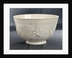 Bowl depicting Admiral Vernon by unknown
