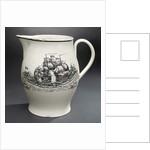 Creamware jug by Barker & Brown