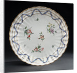 Plate, part of a tea service reputedly belonging to Vice-Admiral Horatio Nelson (1758-1805) by Richard Champion