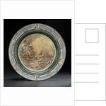 Creamware plate by Royal Doulton