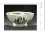 Creamware bowl by unknown