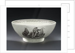 Creamware bowl by Josiah Wedgwood & Sons Ltd.