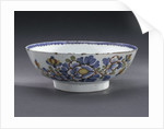 Delftware bowl by unknown
