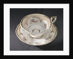 Cup and saucer, part of a teaset said to have been used by Emma, Lady Hamilton by unknown
