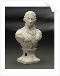 Biscuit ware, half-length bust of Vice-Admiral Horatio Nelson (1758-1805) by Pierre Stephan