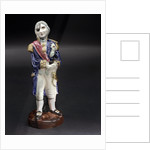 Figure of Vice-Admiral Horatio Nelson (1758-1805) by Holkham Studio Pottery