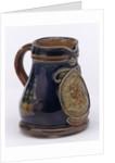 Miniature jug commemorating the Trafalgar centenary by Doulton & Co. Ltd.