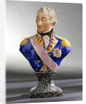 Bust depicting Vice-Admiral Horatio Nelson (1758-1805) by Pierre Stephan