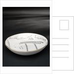 Porcelain saucer by Josiah Spode