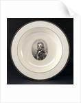 Creamware plate by Worthington