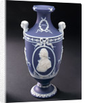 Vase commemorating Vice-Admiral Horatio Nelson (1758-1805) by Josiah Wedgwood & Sons Ltd.