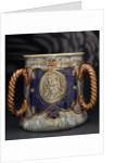 Trafalgar centenary commemorative loving cup by Doulton & Co. Ltd.