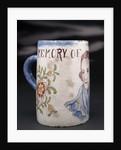 Delftware mug by unknown