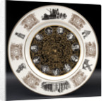 Bone china plate by Josiah Wedgwood & Sons Ltd.