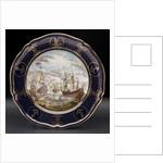Bone china plate by Spode Ltd.
