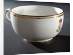 Porcelain cup by Royal Crown Derby Porcelain Co