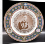 Porcelain plate by Caverswall China Co. Ltd.