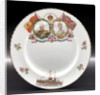 Porcelain plate by John Aynsley & Sons Ltd.