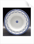 China soup plate by W.T. Copeland & Sons Ltd.