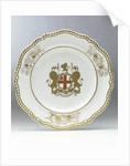 Porcelain plate by Josiah Spode