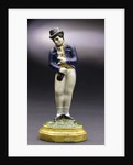 Earthenware figure of a sailor by unknown