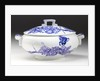 White vegetable dish with lid by Cauldon Ltd.