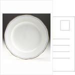 Porcelain plate by Minton
