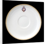Saucer used on RY 'Osborne' (1870) by Derby Crown Porcelain Co. Ltd.