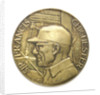 Medal commemorating Sir Francis Chichester (1901-1972) and 'Gypsy Moth IV'; obverse by Paul Vincze