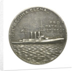Medal commemorating 'Regina Elena'; reverse by S.J.
