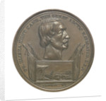 Medal commemorating Elisha Kent Kane (1820-1857); obverse by G.H. Lovett