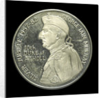 Commemorative medal depicting George Ian Murray, 10th Duke of Atholl, 1982; reverse by unknown