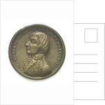 Medal commemorating Vice-Admiral Horatio Nelson (1758-1805); reverse by F. A.