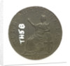 Token depicting Admiral of the Fleet Richard Howe (1726-1799) and the Glorious First of June, 1794; reverse by T. Wyon