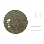 Emsworth halfpenny token commemorating Admiral of the Fleet Richard Howe (1726-1799) and the Glorious First of June, 1794; reverse by T. Wyon