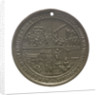Medal commemorating the centenary of the London Missionary Society, 1895; reverse by unknown