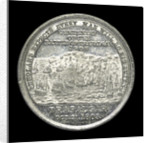 Medal commemorating the centenary of the Battle of Trafalgar, 1905; reverse by Spink & Son Ltd.