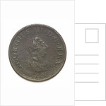 Halfpenny; reverse by unknown
