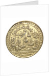 Medal commemorating the capture of Porto Bello, 1739 by Admiral Edward Vernon (1684-1757); reverse by unknown