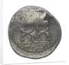 Denarius; reverse by P. Fourius Crassipes