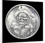 Medal commemorating R. L. Stevenson's novel 'Treasure Island'; obverse by unknown