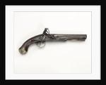 Flintlock pistol by Dublin Castle