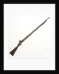 Flintlock musket by unknown