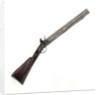 Seven barrelled volley gun by H. Nock